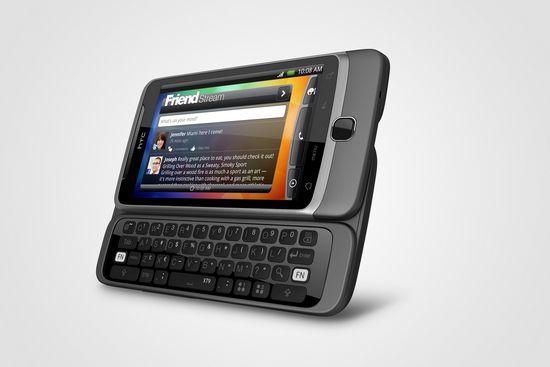 Обзор смартфона HTC Desire Z HTC