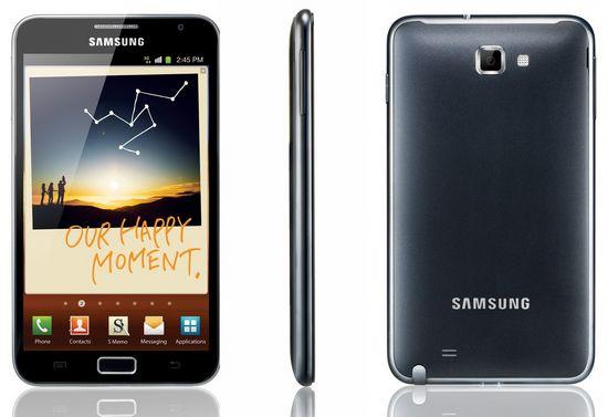 Обзор смартфона Samsung Galaxy Note Samsung galaxy note